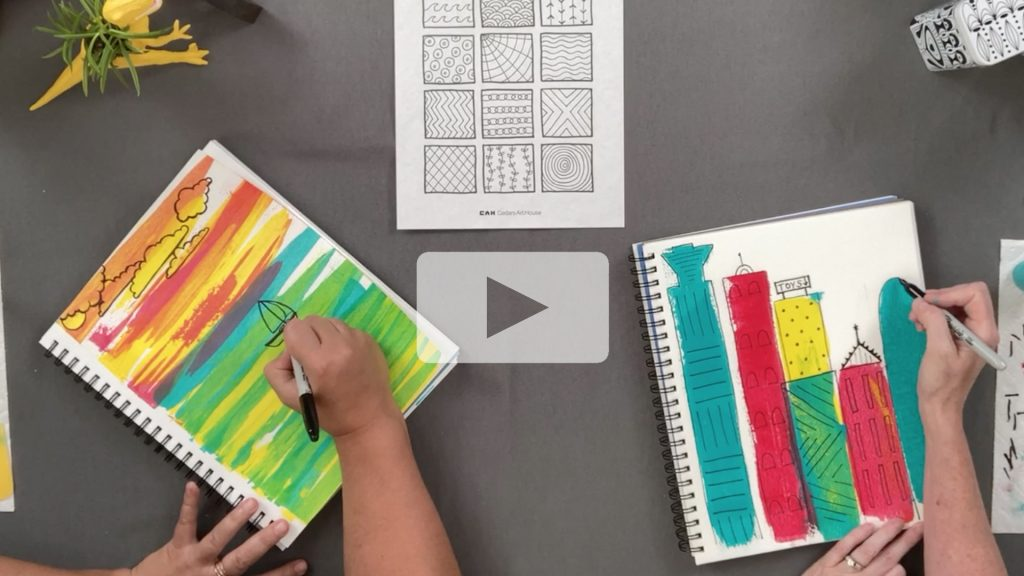 See a preview of the Sketchbook Explorations kit